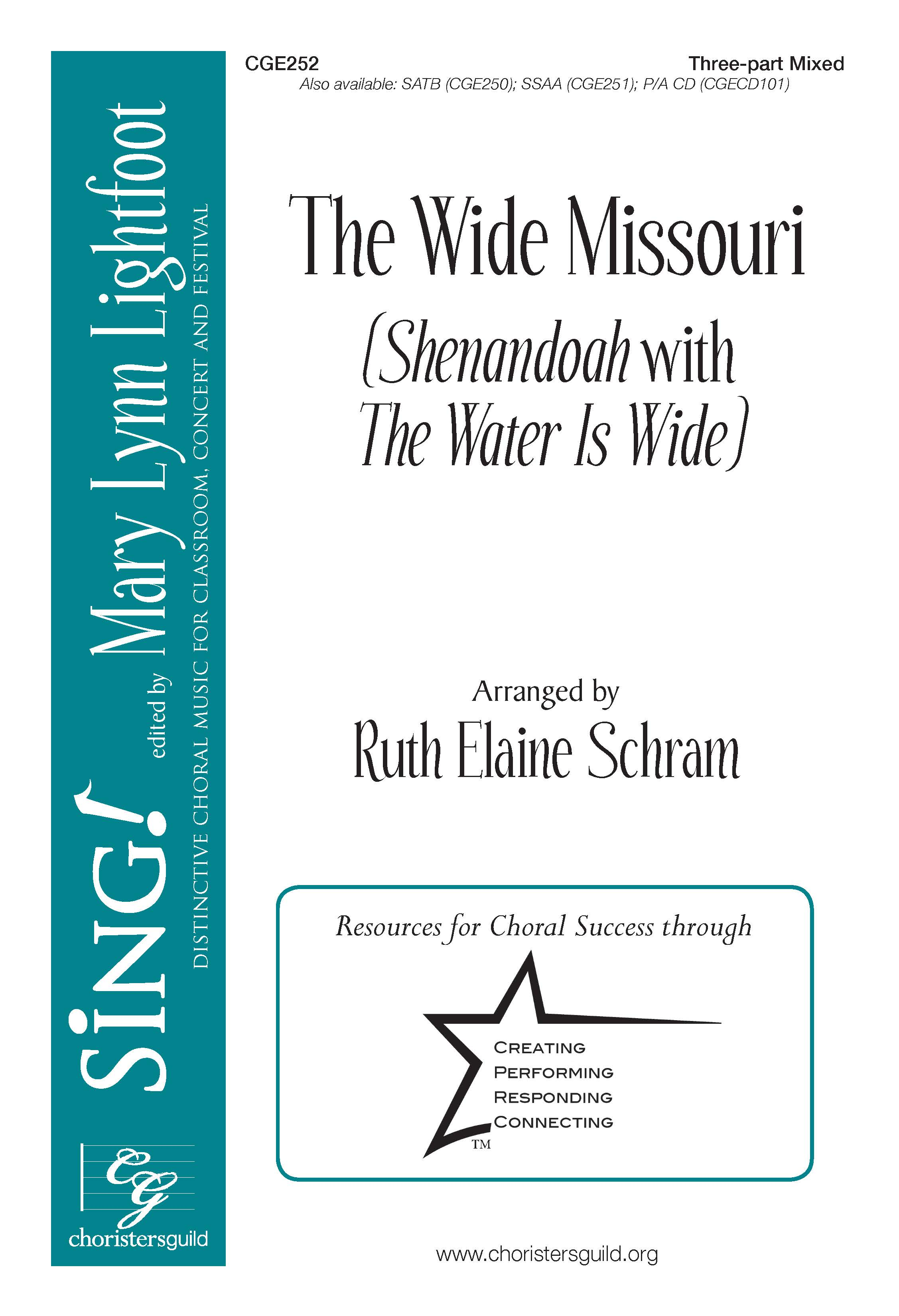 The Wide Missouri Three-part mixed