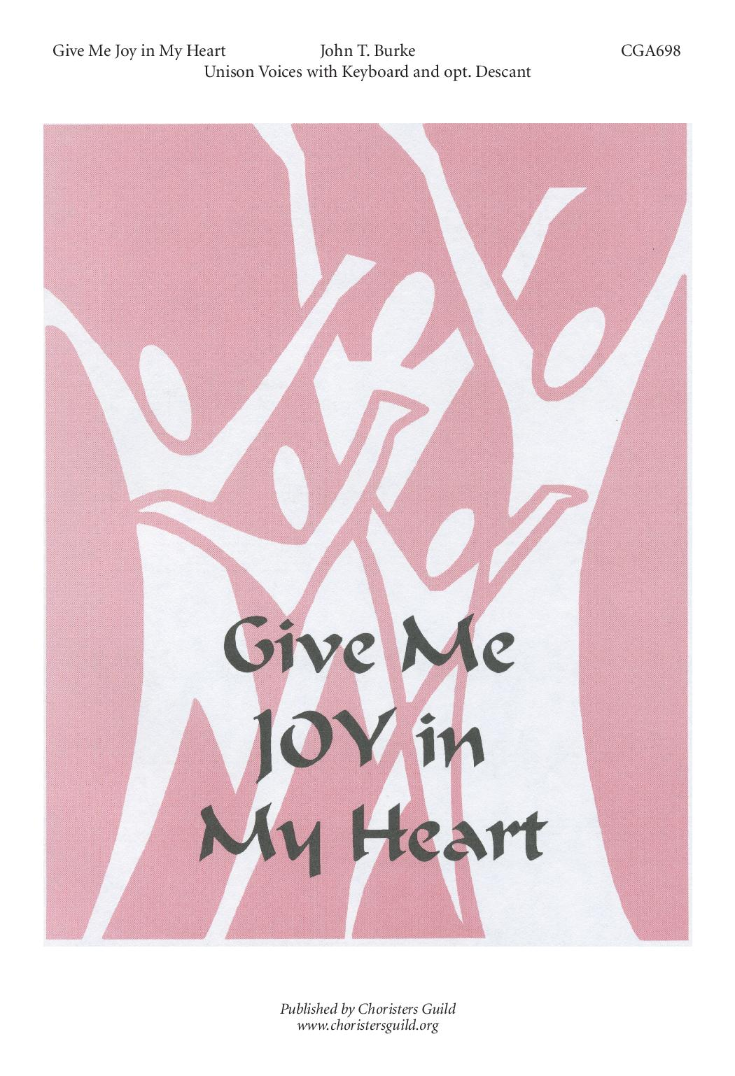 Give Me Joy In My Heart