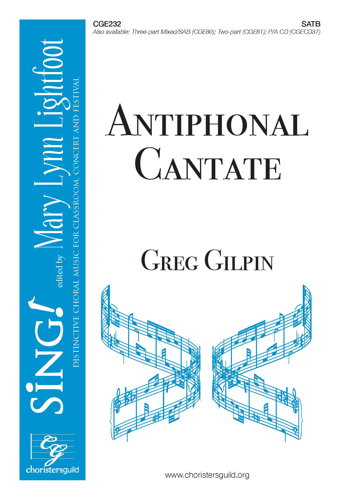 Antiphonal Cantate SATB