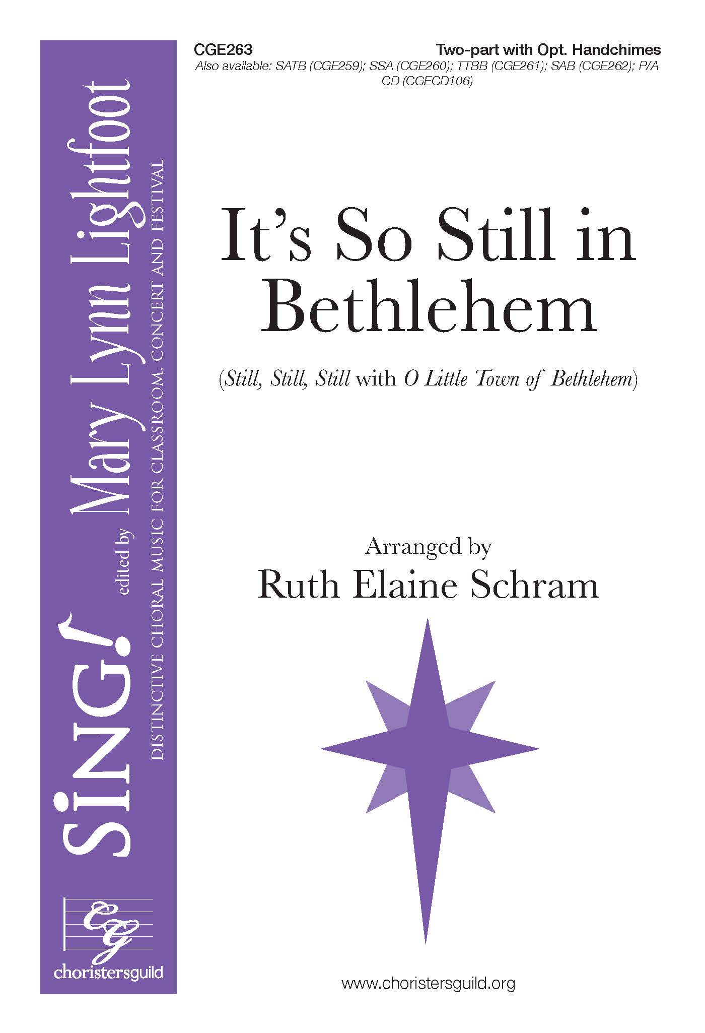 It's So Still in Bethlehem Two-part