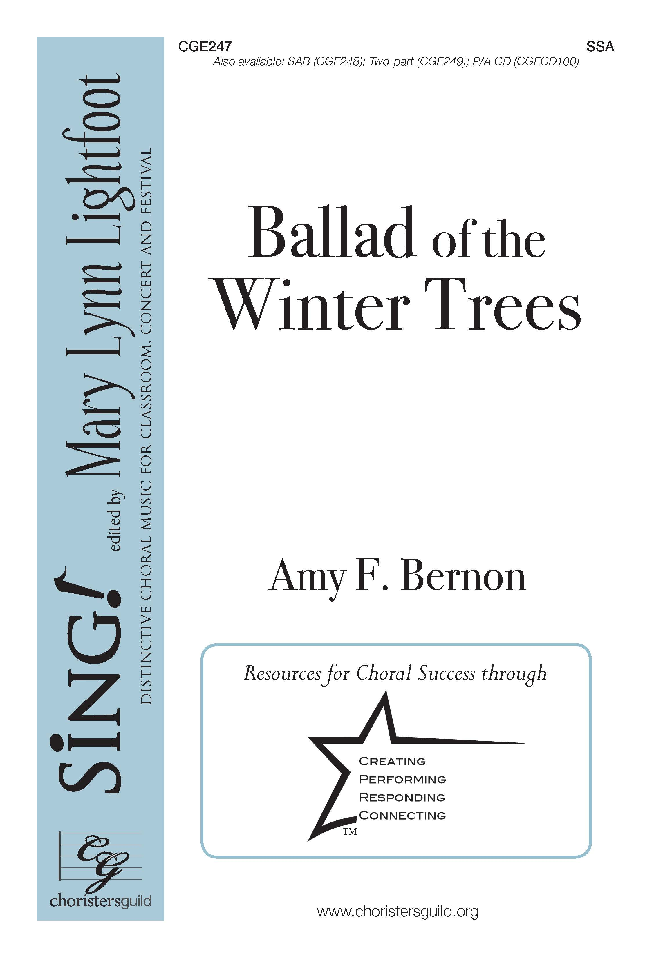 Ballad of the Winter Trees SSA