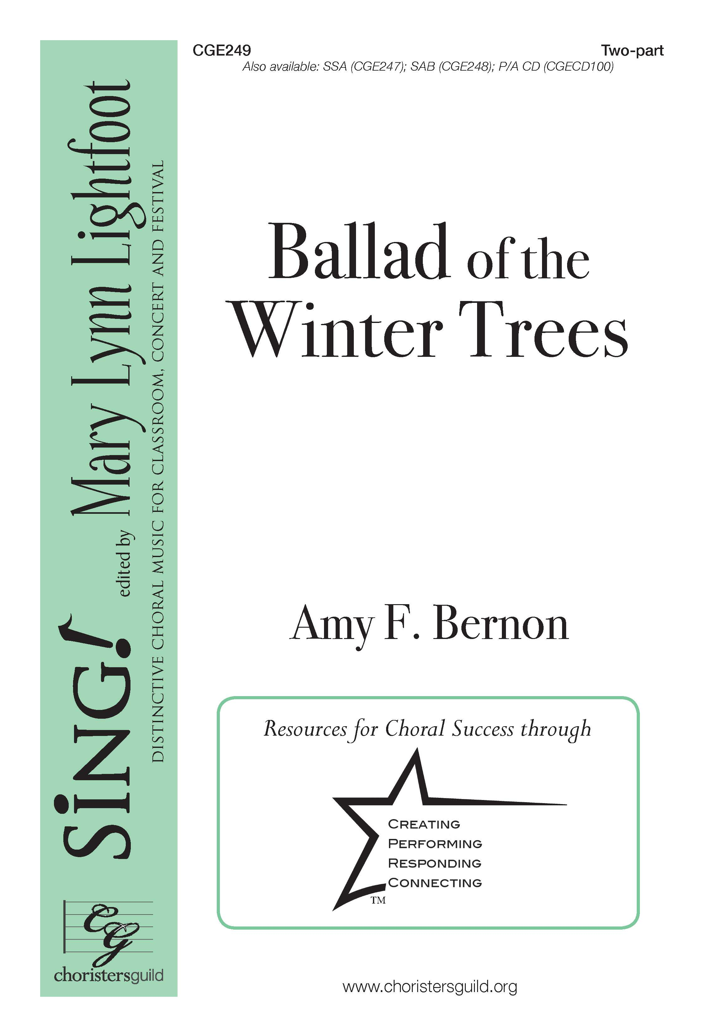Ballad of the Winter Trees Two-part