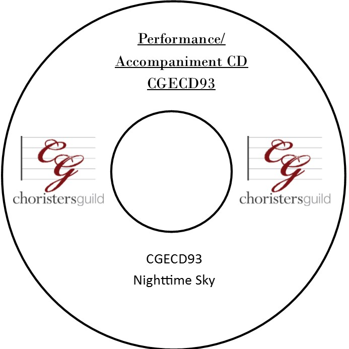 Nighttime Sky (Performance/Accompaniment CD)
