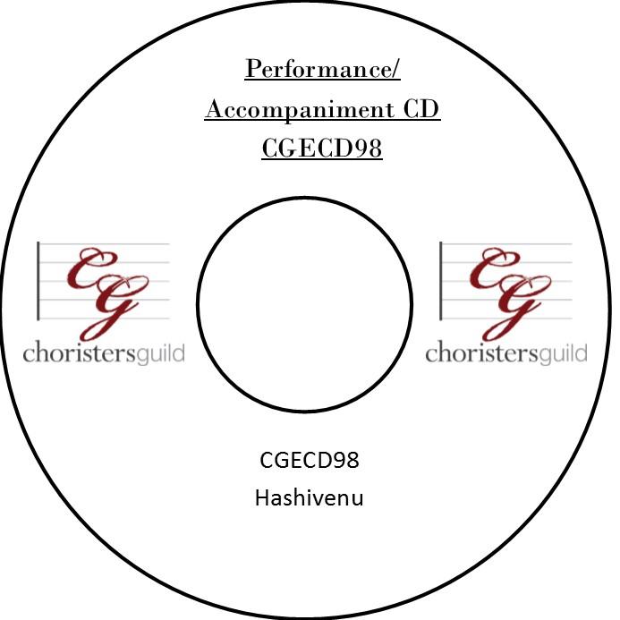 Hashivenu (Performance/Accompaniment CD)