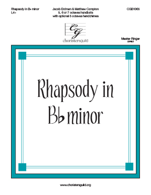 Rhapsody in Bb minor