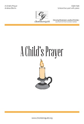 A Child's Prayer Accompaniment Track