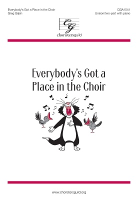 Everybody's Got a Place in the Choir Accompaniment Track