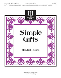 Simple Gifts Handbell Score