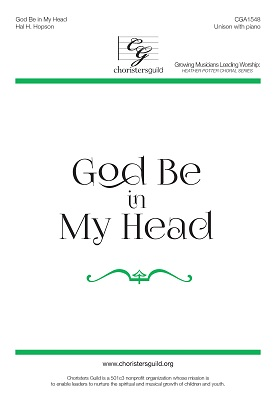 God Be in My Head (Unison)