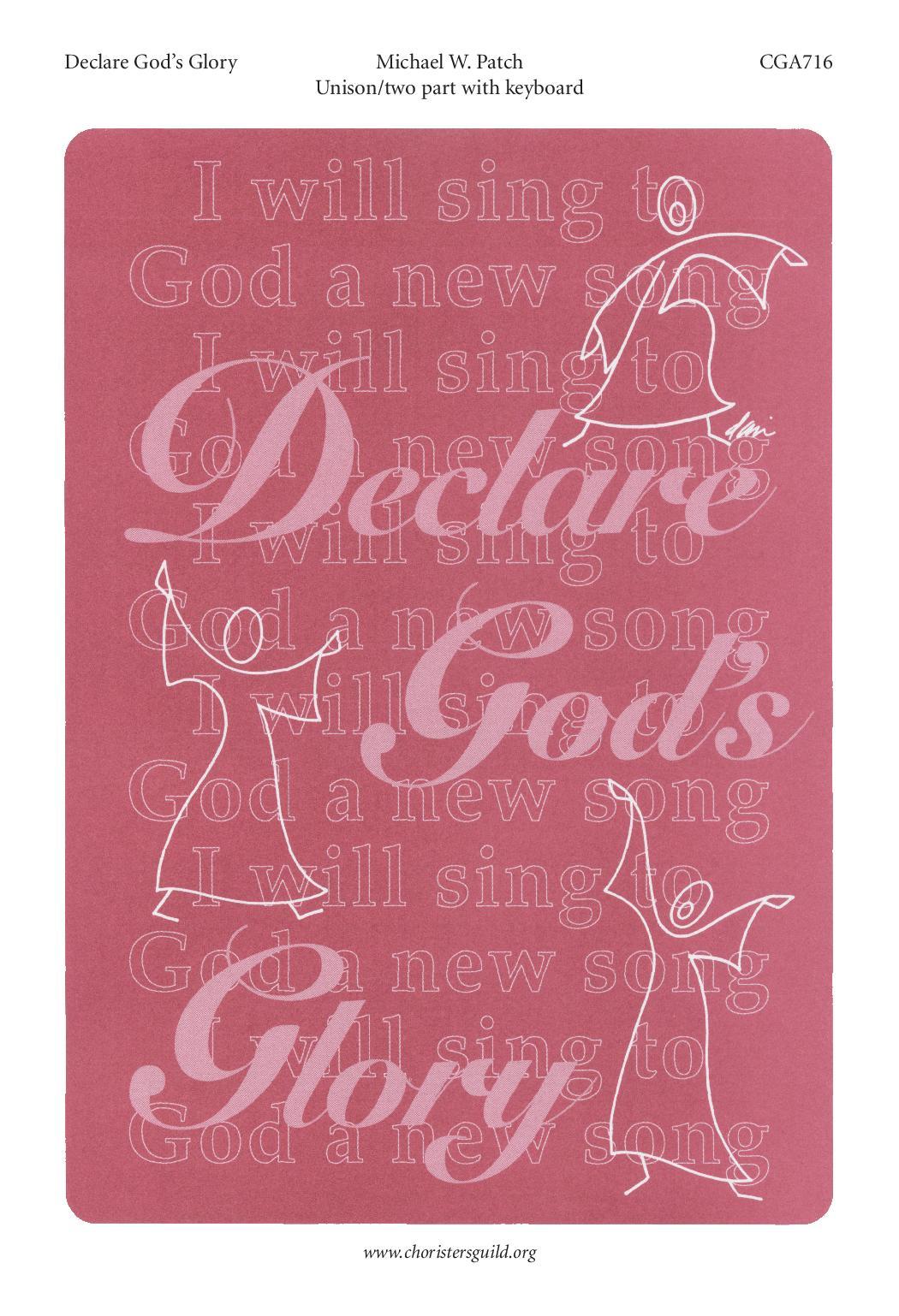 Declare God's Glory