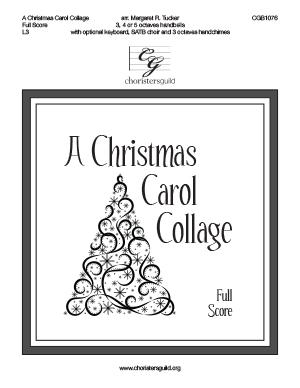 A Christmas Carol Collage - Full Score