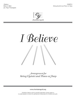 I Believe - Orchestration for String Quintet with Piano or Harp