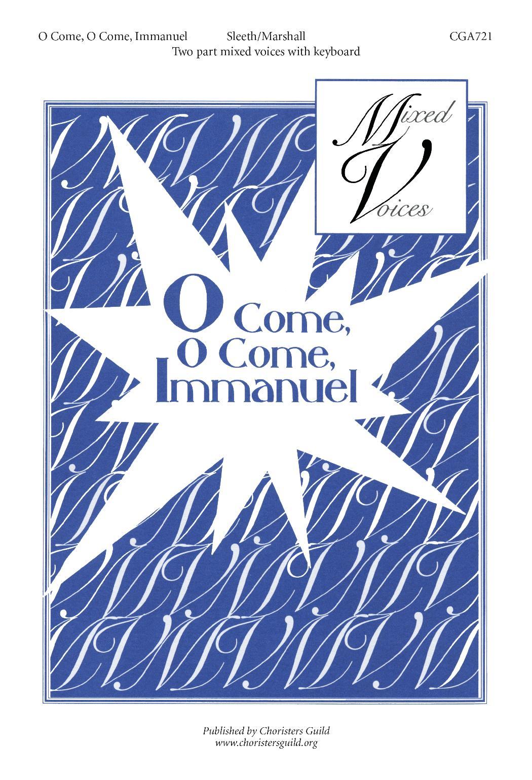 O Come, O Come, Immanuel (SAB)