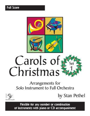 Carols of Christmas, Set 1 - Full Score