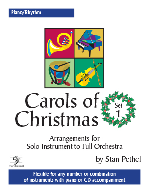 Carols of Christmas, Set 1 - Piano/Rhythm