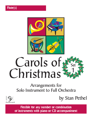 Carols of Christmas, Set 1 - Flute