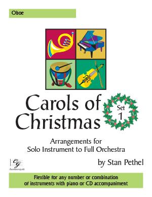 Carols of Christmas, Set 1 - Oboe