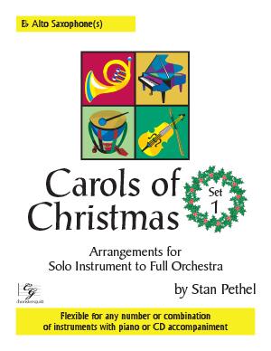 Carols of Christmas, Set 1 - Eb Alto Saxophone