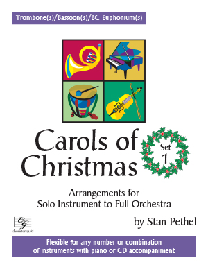 Carols of Christmas, Set 1 - Trombone(s)/Bassoon(s)/BC Euphonium(s)