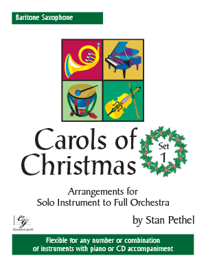 Carols of Christmas, Set 1 - Baritone Saxophone