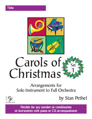 Carols of Christmas, Set 1 - Tuba