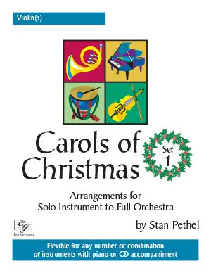 Carols of Christmas, Set 1 - Violin(s)