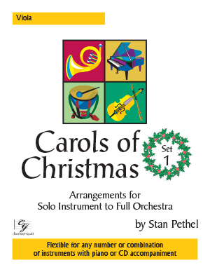 Carols of Christmas, Set 1 - Viola