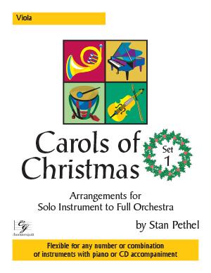 Carols of Christmas, Set 1 - Viola