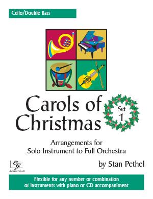 Carols of Christmas, Set 1 - Cello/Double Bass