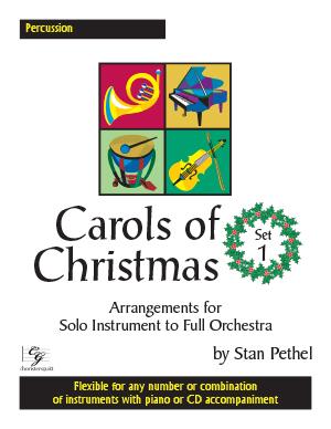 Carols of Christmas, Set 1 - Percussion