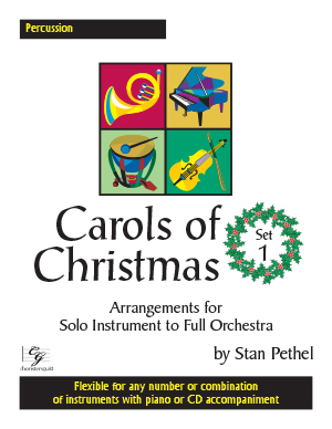 Carols of Christmas, Set 1 - Percussion