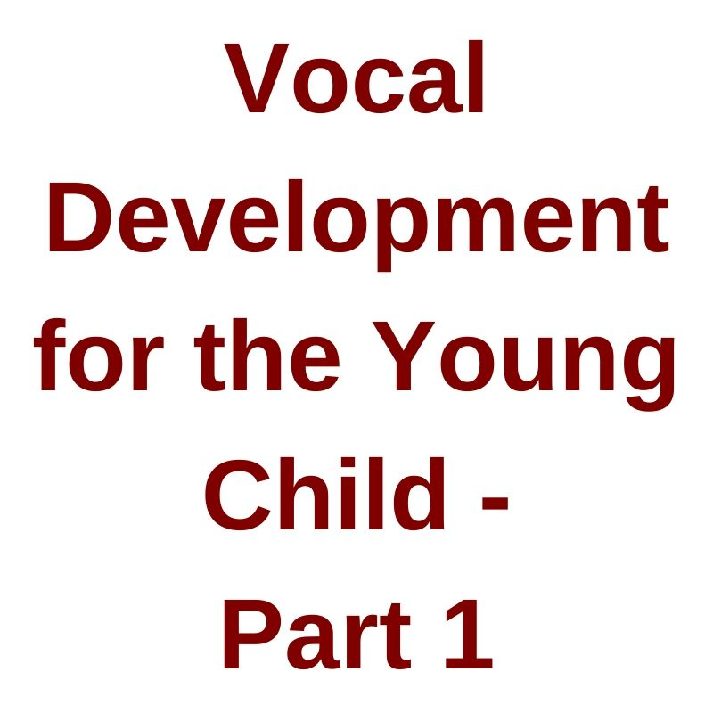 John Feierabend Webinar 2016 Vocal Development for Young Child Video on Demand