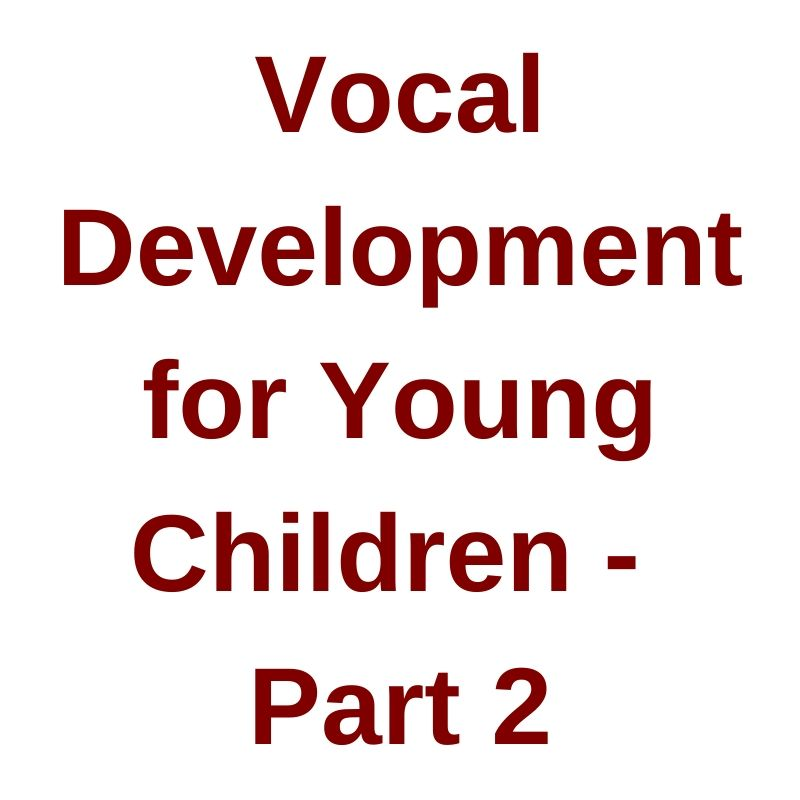 John Feierabend Webinar 2016 Vocal Development for Young Child Video o