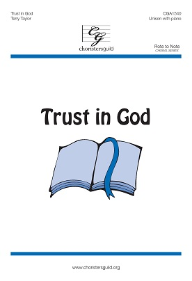 Trust in God (Accompaniment Track)