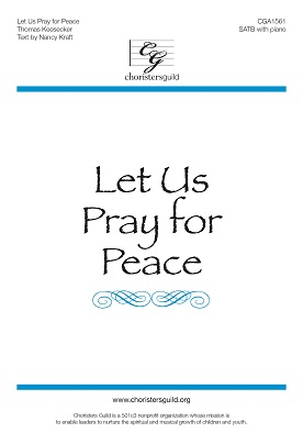Let Us Pray for Peace (Accompaniment Track)