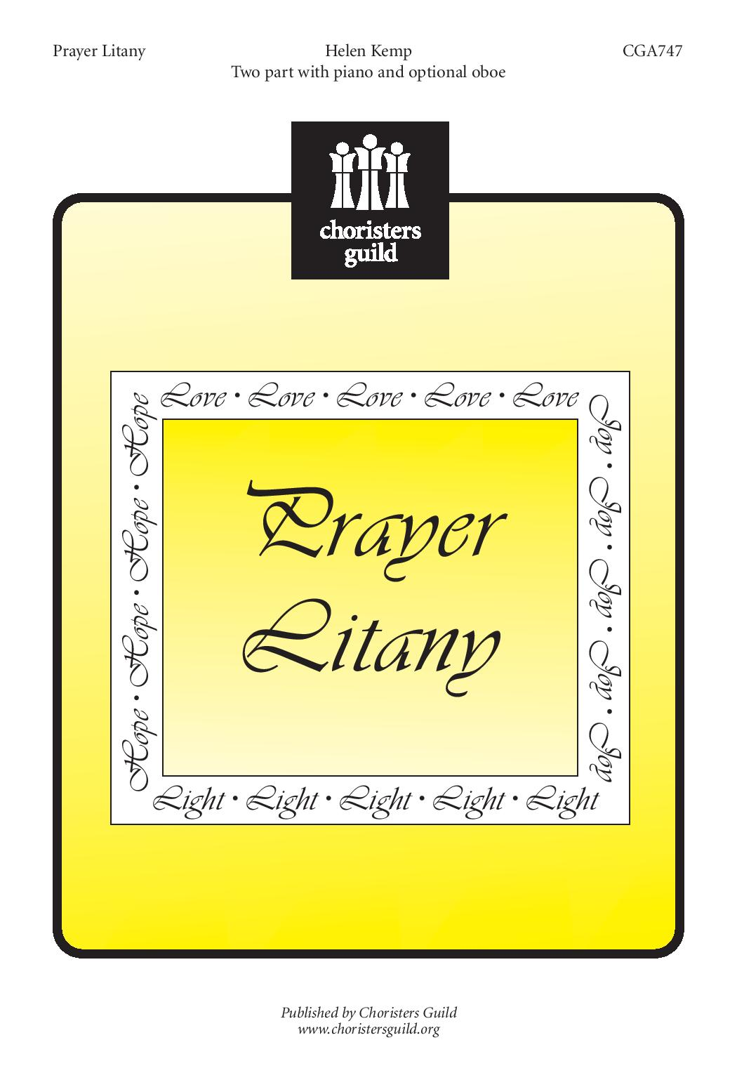 Prayer Litany (2-Part)