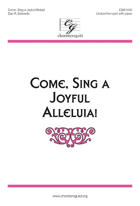 Come, Sing a Joyful Alleluia! Accompaniment Track