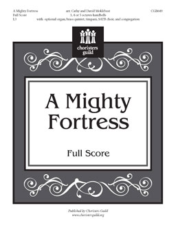 A Mighty Fortress - Full Score