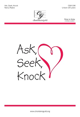 Ask, Seek, Knock Accompaniment Track