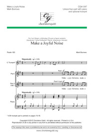 Make a Joyful Noise Accompaniment Track