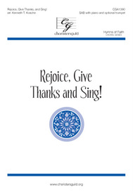 Rejoice, Give Thanks, and Sing! Accompaniment Track