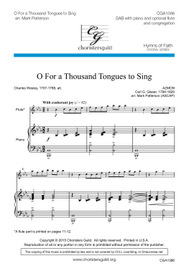 O For a Thousand Tongues to Sing Accompaniment Track