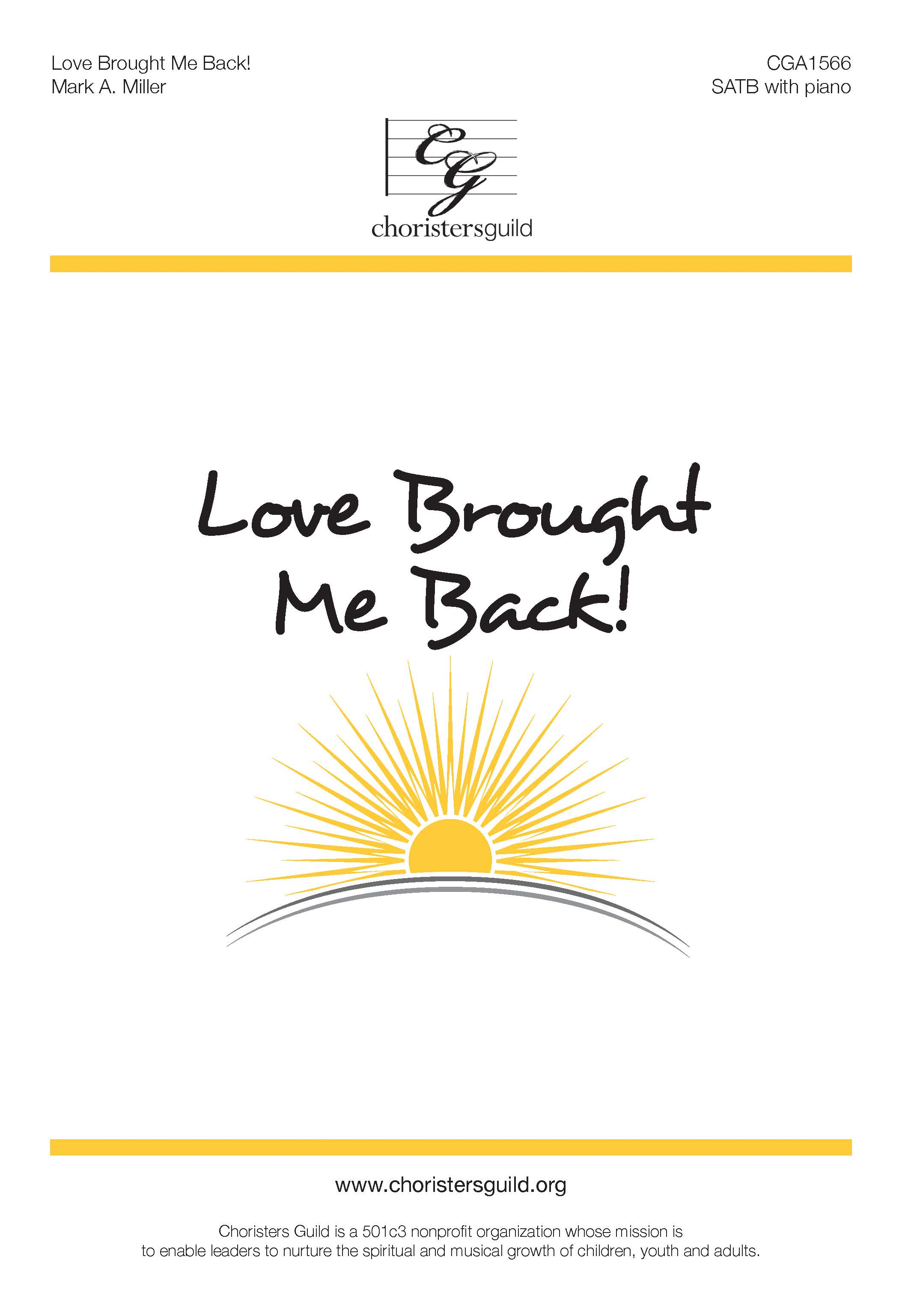 Love Brought Me Back!