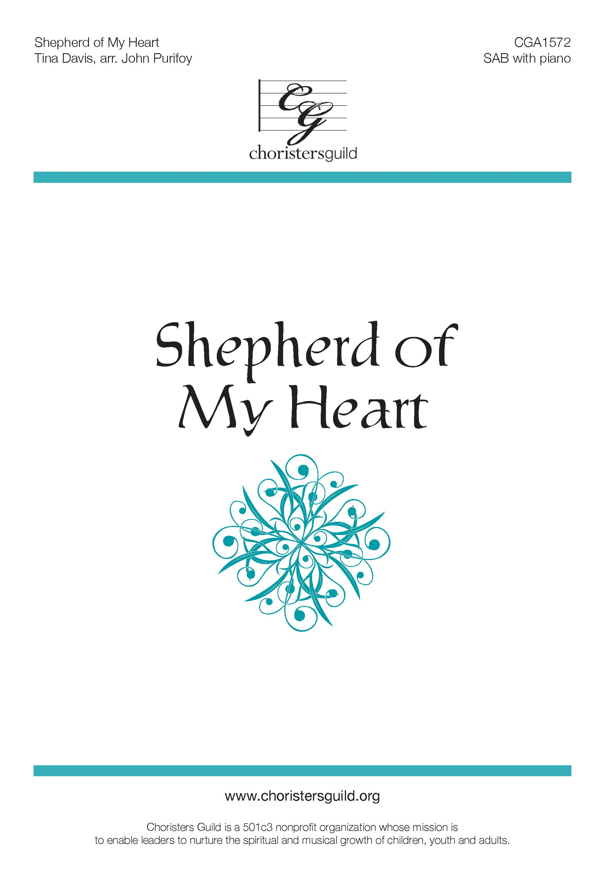 Shepherd of My Heart SAB