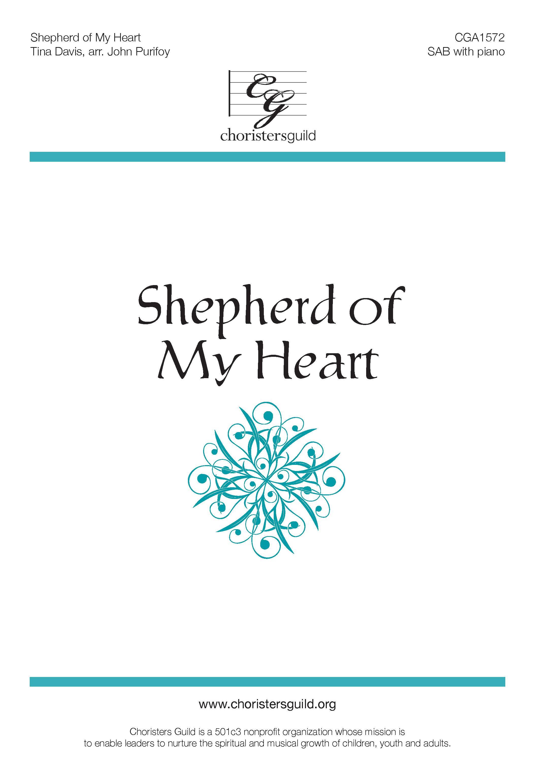 Shepherd of My Heart SAB