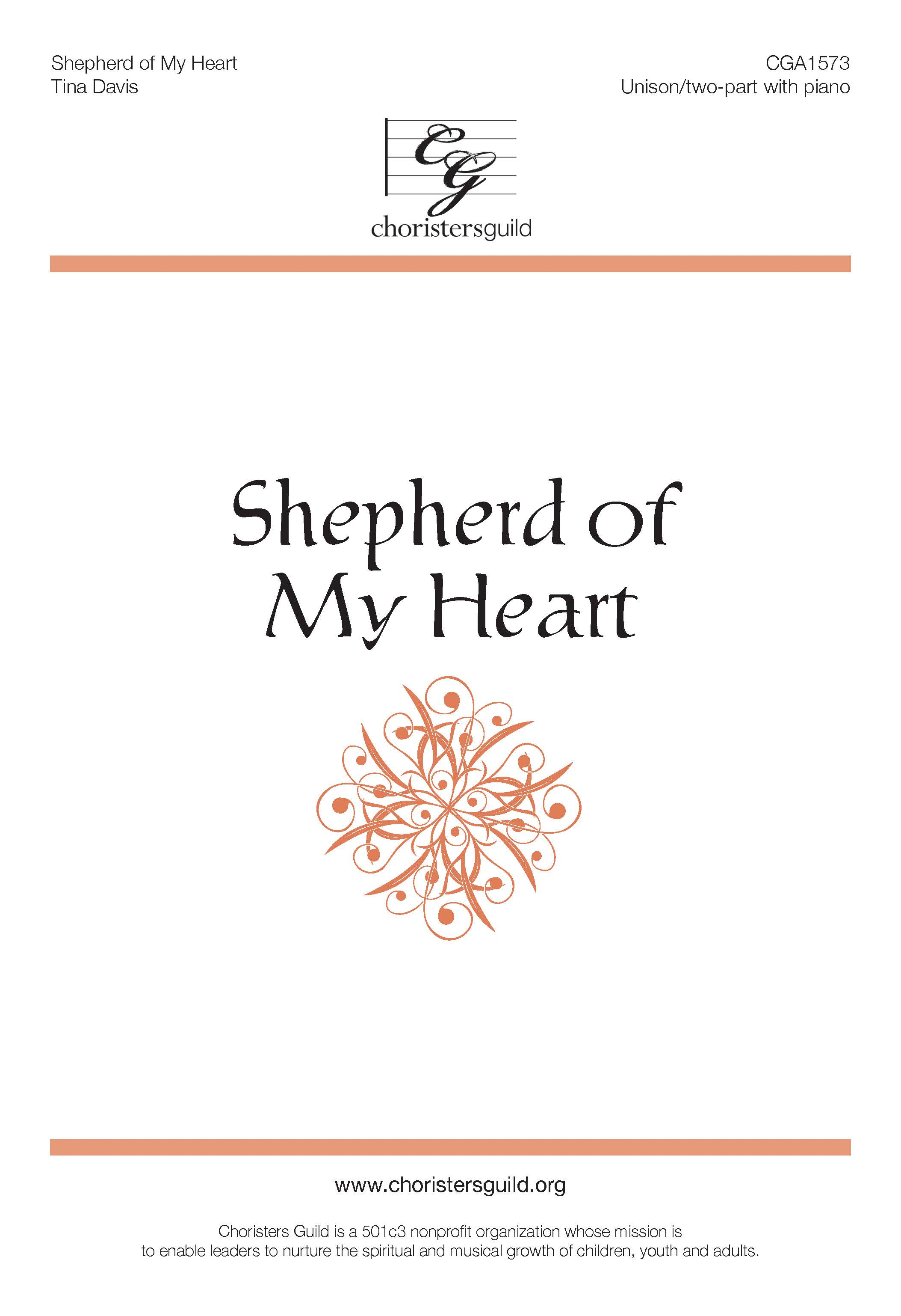 Shepherd of My Heart Unison/Two-part