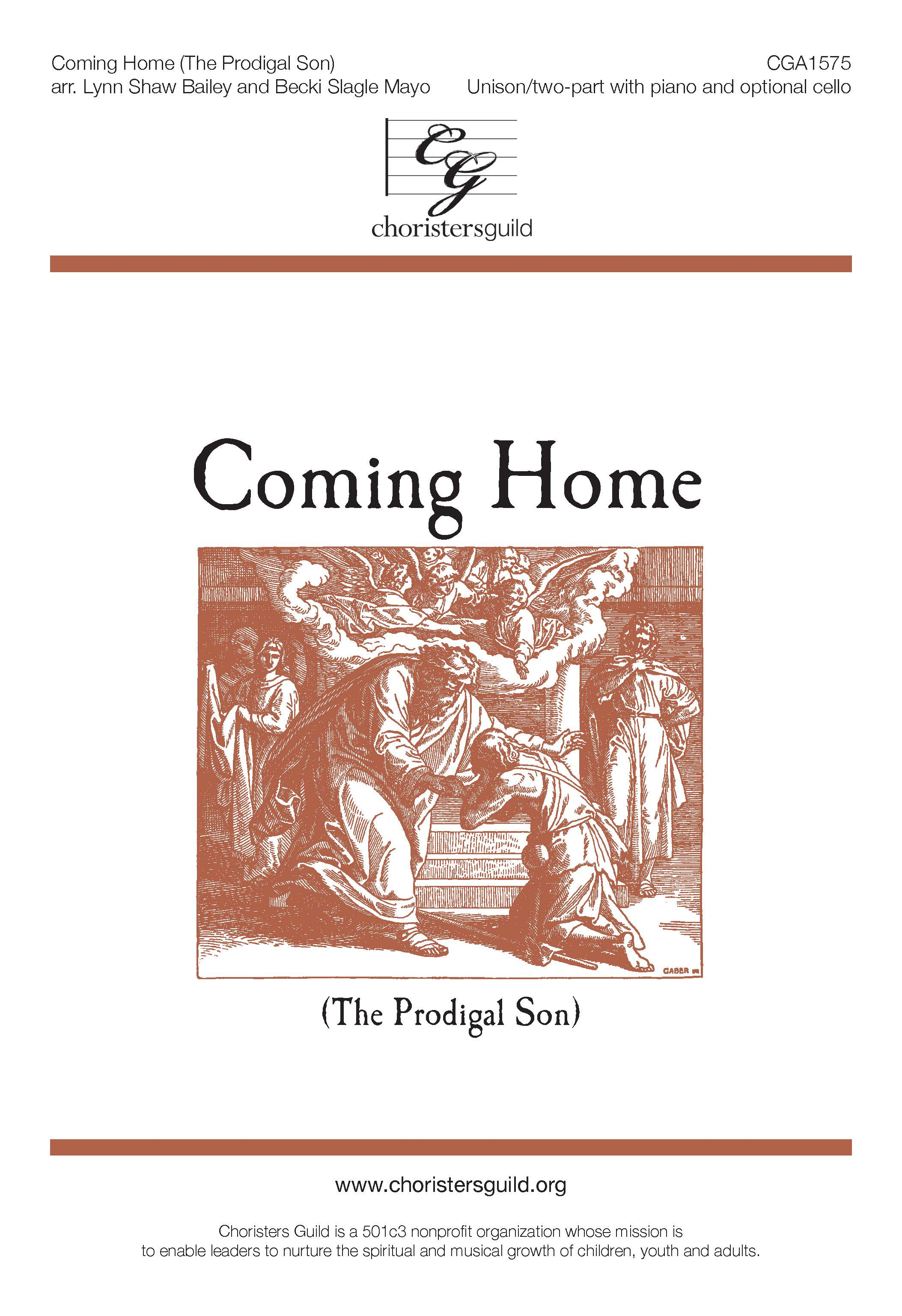 Coming Home (The Prodigal Son) Unison/Two-part