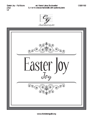 Easter Joy - Full Score