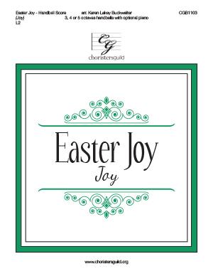 Easter Joy - Handbell Score