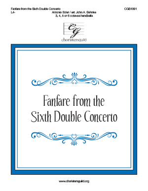 Fanfare from the Sixth Double Concerto
